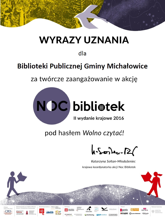 uznanie noc bibl
