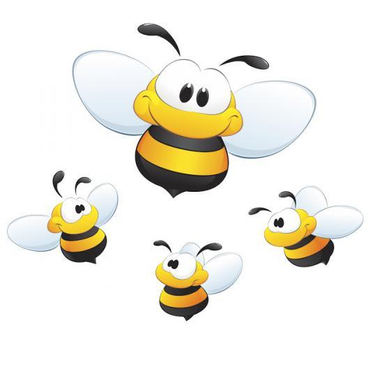 Pszczółki obrazek
