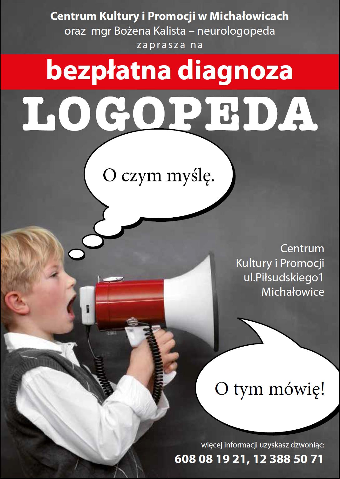 Plakat logopeda